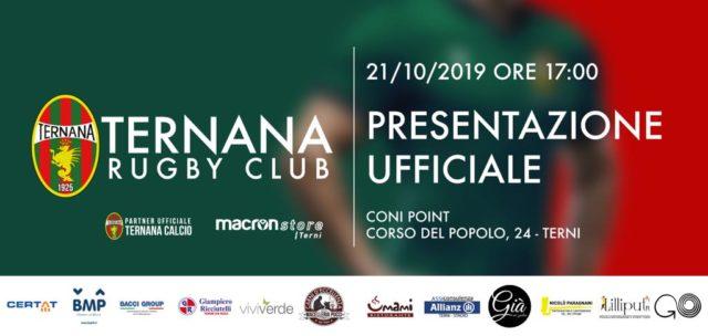 Presentazione Ufficiale Ternana Rugby Club